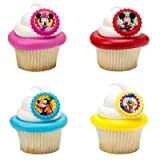 Mickey Mouse Clubhouse You Bethcha! Cupcake Rings - 24 ct