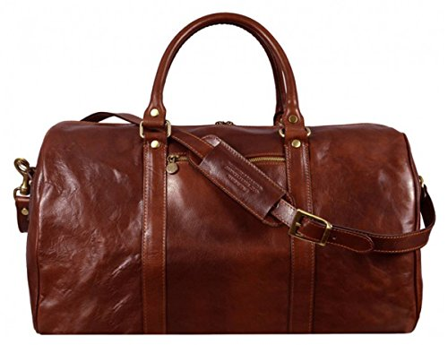 Brown Ambassadors Duffel Bag by Time Resistance by Time Resistance