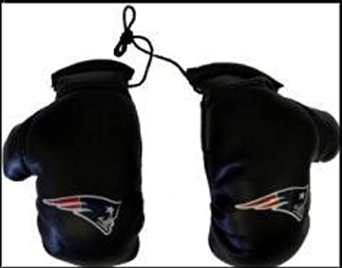 NFL New England Patriots Unisex NFL Mini Boxing Glovesnfl Mini Boxing Gloves, Team Logo/Colors, 4