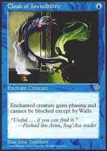 - Magic: the Gathering - Cloak of Invisibility - Mirage
