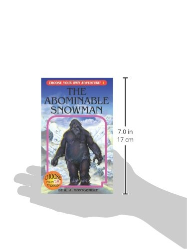 The Abominable Snowman (Choose Your Own Adventure #1): R. A. ...