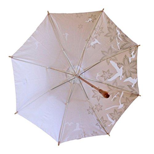 Sun Umbrella. #1 Elegant Parasol UV Umbrella UPF 50 : Sand Kimberley.