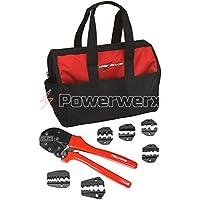 Powerwerx CRIMPBAG Powerpole Crimping Tool and Accessory Die Sets w Nylon Bag