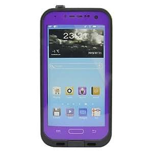 conseguir Caso Cuerpo impermeable protectora completa para Samsung Galaxy S3 I9300 (colores surtidos) , Púrpula