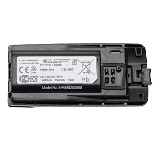 vhbw Li-Ion battery 2100mAh (3.7V) compatible with Motorola XT420, XT460, XT660d radio, walkie-talkie