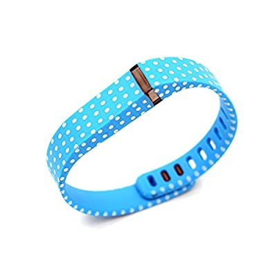 2015 Latest Band Set For Fitbit Flex,Large Replacement bands Set, Newest Layout, Water Transfer Printing Set With Metal Clasps for Fitbit Flex Activity Tracker/ Wireless Activity+Sleep Wristband/ Sport Bracelet/ Sport Armband
