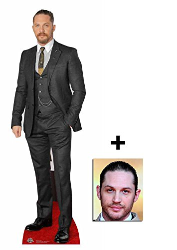 Fan Pack - Tom Hardy Waistcoat Style Lifesize Cardboard Cutout / Standee Includes 8x10 (20x25cm) Photo by BundleZ-4-FanZ Fan Packs