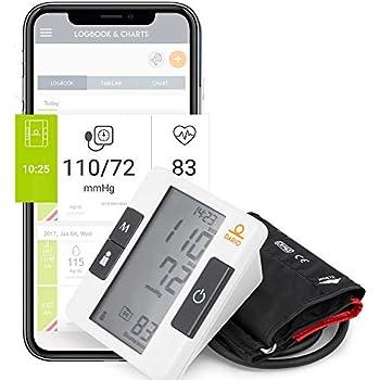 Amazon.com: Digital Blood Pressure Monitor Upper Arm by ...