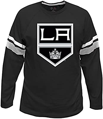 Profile Big /& Tall NHL unisex-adult Long Sleeve Tee With Double Arm Stripe