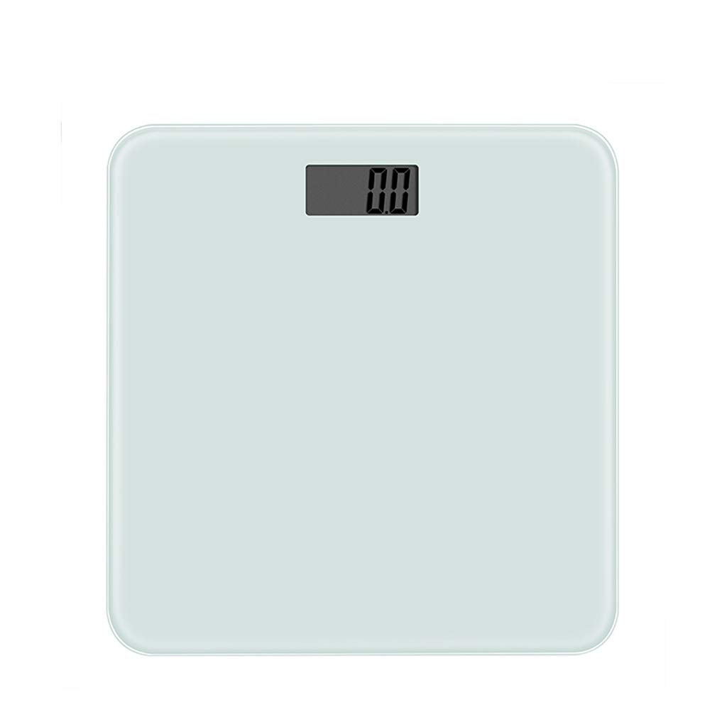 Mjd Scales Household Electronic Weight Scale High Precision Top Electronic Scale Intelligent Human Scale HD LCD Display Long Standby Bathroom Scale (Color : Clear) by Mjd
