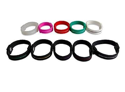 PETREL Different Colors Sports Basketball Football Wristband Bracelet
