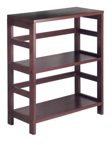 2L Lifestyle Hyder Everyday Basic Bookshelf Storage Rack Wood Shelf, Small, Brown by 2L Lifestyle (Image #2)