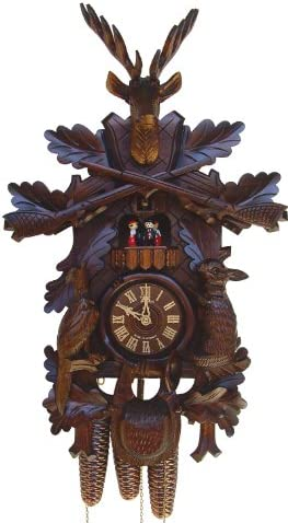 Anton Schneider Cuckoo Clock Hunting Clock