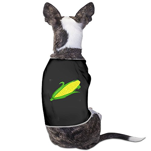 [Love Story Corn On The Cob Funny Dog Clothes Costume Small Dog Cat Pet Clothing Puppy T Shirt Apparel Dog Warm] (Corn On The Cob Dog Costume)