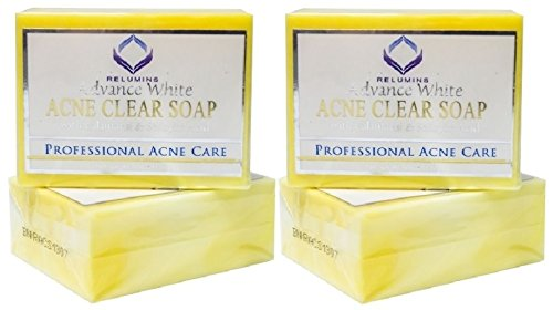 (Pack of 2)Authentic Relumins Medicated Professional Acne Clear Soap with Calamansi & Salicylic Acid