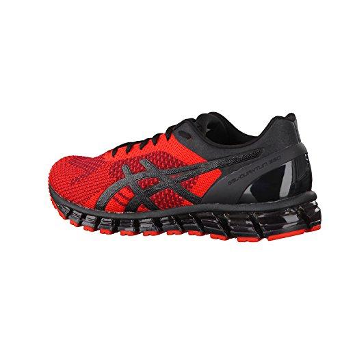 Asics Gel-Quantum 360 Knit, Zapatillas de Deporte para Hombre Red