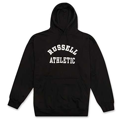 Russell Big and Tall Mens Active Fleece Pullover Hoodie Sweatshirt Black 3X