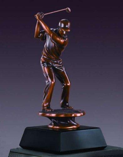 Male Golfer (L) Statue Award or - Award Golfer Male