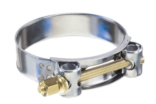Kuriyama TBC-SSC043 Heavy Duty T-Bolt Clamp, 304 Stainless Steel Band, Carbon Steel Bolt and Nut, 1-5/8