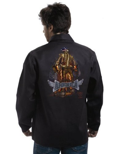 "TILLMAN 9061 ""BACKBONE of AMERICA"" WELDING JACKET - M by Tillman"