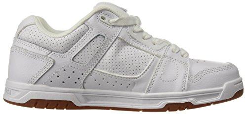 Shoes cuero DC Zapatillas hombre STAG de D0320188 Gum Blanco para TFddqg4On
