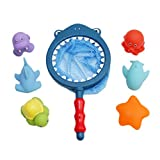 Best Floating Baths - GUAngqi Bath Water Toys for Toddlers Fishing Net Review