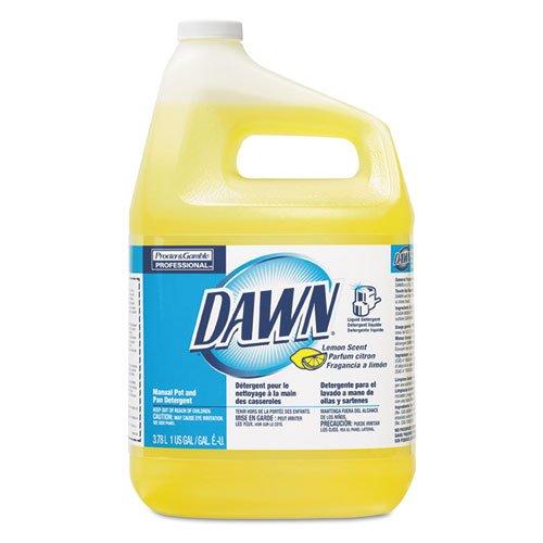 Dawn Professional 57444CT Manual Pot & Pan Dish Detergent Lemon 4/Carton