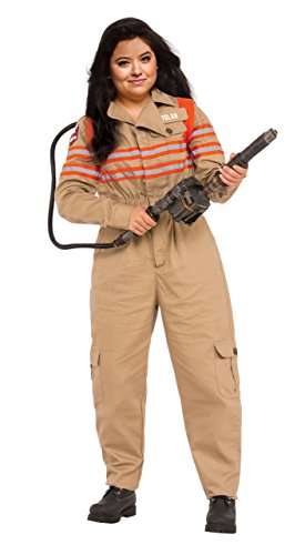 Rubie's Women's Ghostbusters Movie Grand Heritage Plus Costume, Multi, One Size by Rubie's