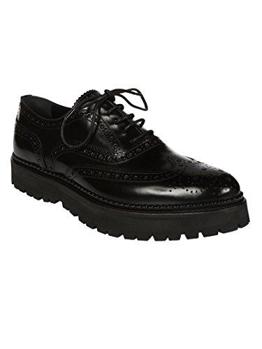Chaussures Cuir Noir Church's Femme 740699XVF0OAB1001POLISHBINDERBLACK Lacets À qxwqpgf