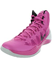 df685babd3b Nike Men s Hyperdunk 2013 Pink Fire II Black Pr Platinum Basketball Shoes  8.5 Men US