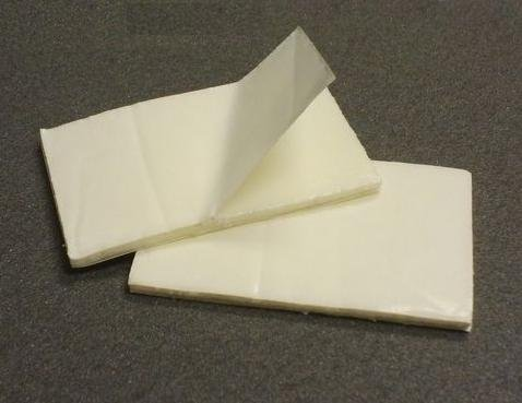 Double Sided Adhesive Foam Mounting Pads, 1 1/4 in X 2 In, Pack of 30 ()