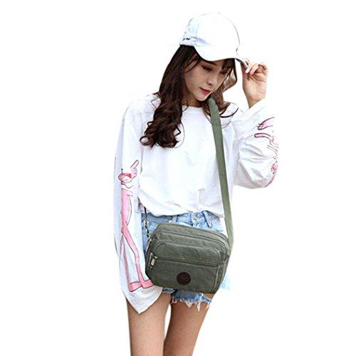 Outdoor Bag Bag Phone Shoulder Coin Morwind Green Shoulder Messenger khaki Canvas ZqX8X5d