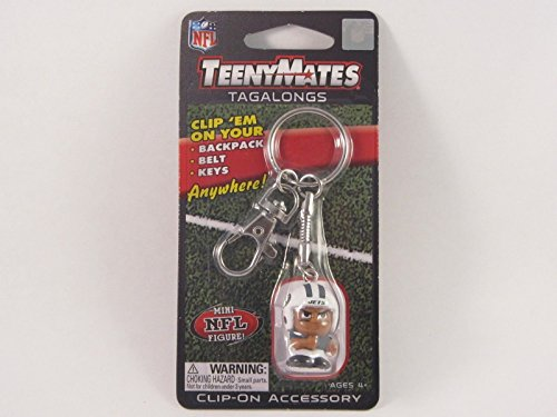 Jet Mate (Party Animal NFL New York Jets Teeny Mates Keychain Tagalong Figure)