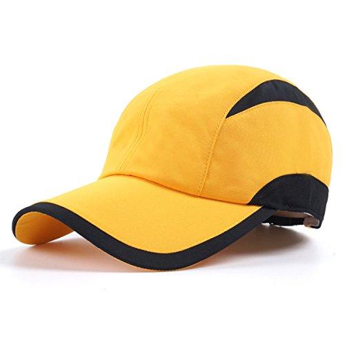 Boundless Voyage 全4色 スポーツキャップ ツートン ローキャップ 帽子 無地 フリーサイズ サイズ調整 紫外線防止 熱中症対策 おしゃれ [ユニセックス]