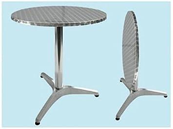 Mesa Bar Alu Round reclinable: Amazon.es: Bricolaje y herramientas