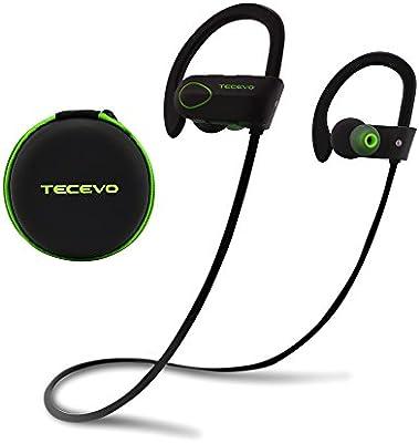 Tecevo S4 Sports Wireless Bluetooth Headphones Ipx7 Amazon Co Uk Electronics