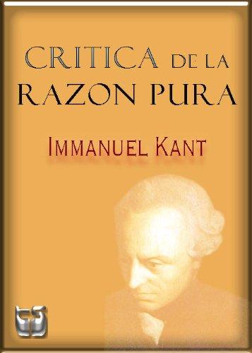 Critica de la Razon Pura (Spanish Edition) by [Kant, Immanuel]