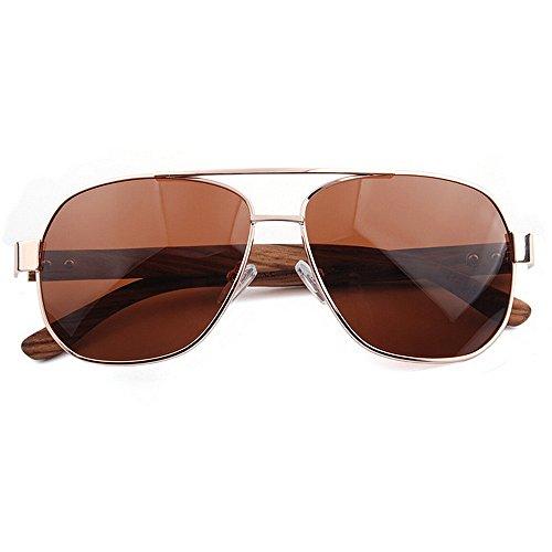 de para para de polarizadas Ojos Marrón de Conducción de SunglassesMAN Hombres Aviador Proteger Estructura Gris Color Protección UV Metal Sol Pesca Yxsd Gafas 400 los qp1vpZ0E