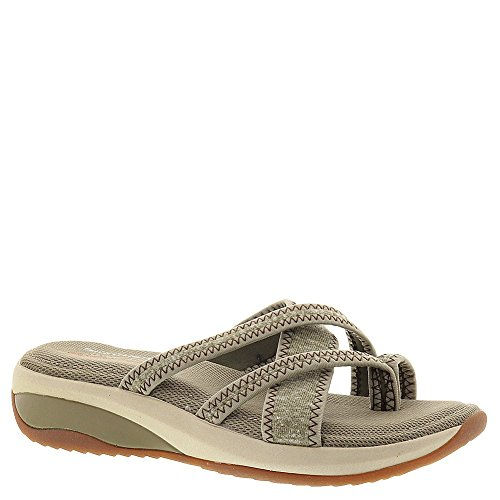 Skechers Relaxed Fit Promotes Excellence Womens Sandals Olive 7 by Skechers