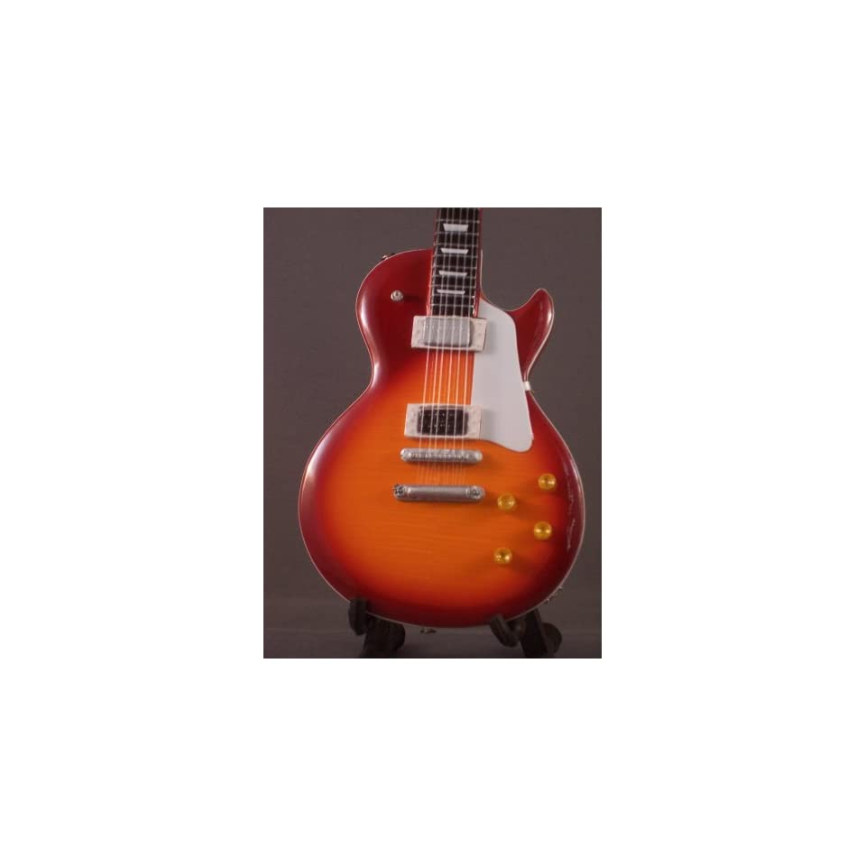 Miniature Guitar LED ZEPPELIN Jimmy Page Sunburst LP