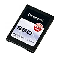 """Intenso SSD Interno SATA3, 256Gb, 2.5"""", Nero"""