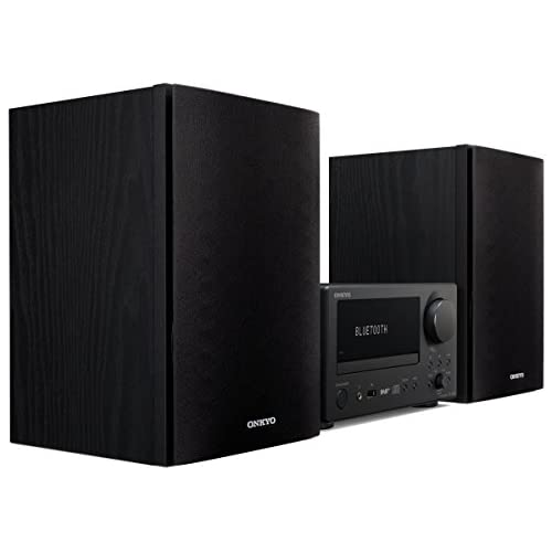 chollos oferta descuentos barato Onkyo CS 375D BB Sistema Receptor de CD Color Negro