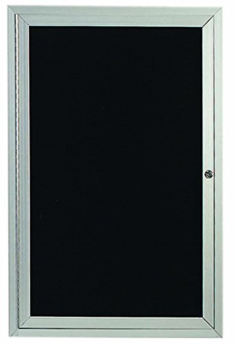 Aluminum Directory Cabinet - Enclosed Outdoor 24
