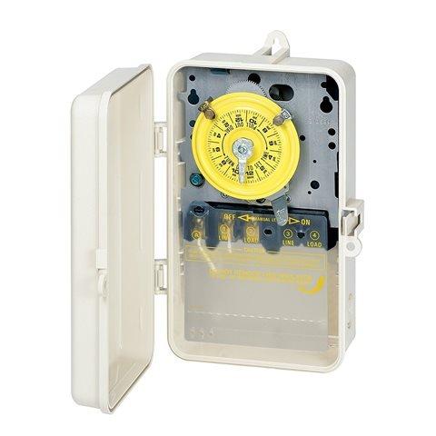 Intermatic USD T101P3 125V Time Clock SPST - Beige
