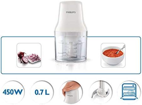 آلة تقطيع الطعام من فيلبس 450 تبلون ابيض، HR1393