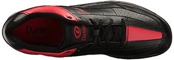 Dexter Men's Ricky Iii Bowling Shoes, Blackred, 6.5 Wide 7