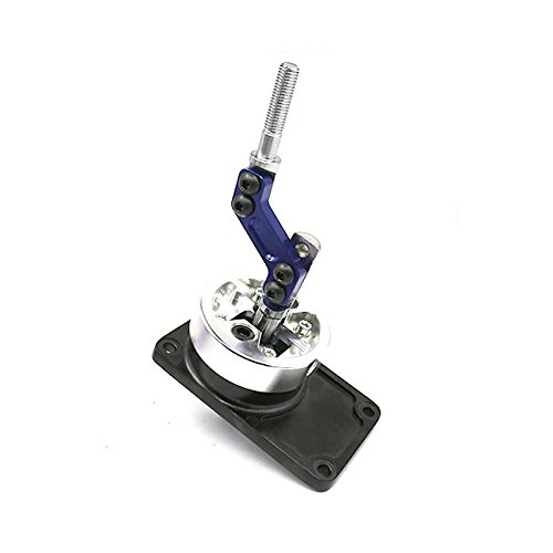 Racing Short Throw Quick Shifter for 83-04 Ford Mustang /83-88 Thunderbird /85-90 Cosworth T5 Blue ( Fit T45/T5 Manual Transmission Shifter ONLY (Ford Racing Short Throw Shifter)