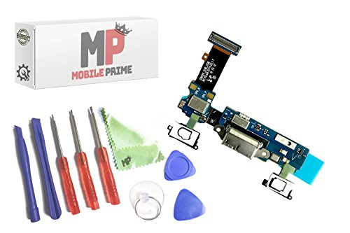 MOBILEPRIME Replacement Charging Charge Port Certified Repair Tools Samsung Galaxy S5 G900V (Individual Parts Repair)