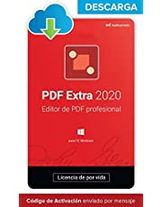 PDF Extra 2020 - DESCARGA / Licencia Online - Editor Profesional de PDF - Crea, Edita, Protege, Anota, Completa y Firma archivos PDF - 1 PC / 1 Usuario / Suscripción de Por Vida