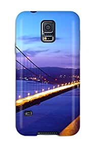 New Golden Gate Bridge Tpu Case Cover Anti Scratch Phone Case For Galaxy S5